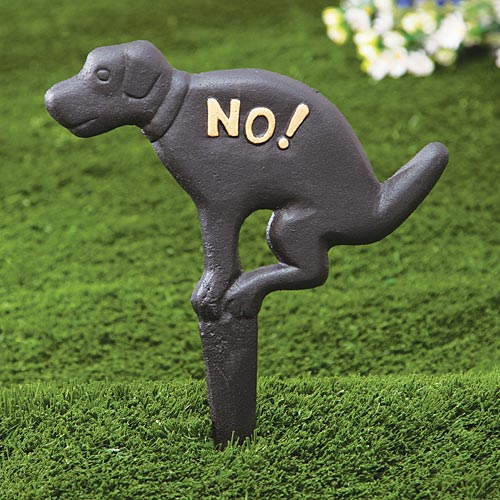 sign with a dog pooping that you put in your lawn i 39 m sure this is