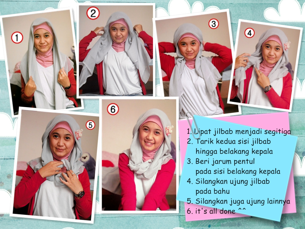 COLORFULLHijabees Tutorial Jilbab Paris 4