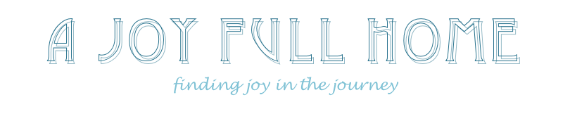a joy full home blog