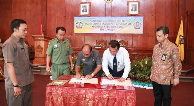 Launching PBB-P2 di Kabupaten Bangli
