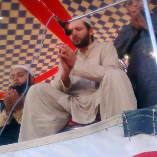 Shahid Afridi with Tablighi Jamat