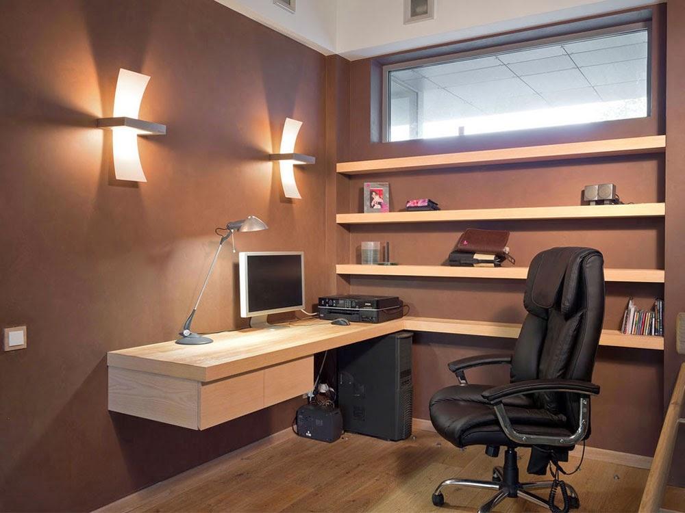 Dise os de oficinas dentro de casa que te encantar n for Imagenes de oficinas en casa