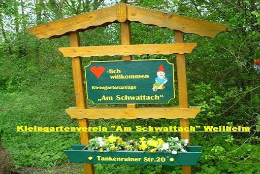 """Kleingartenverein """"Am Schwattach"""" Weilheim"""