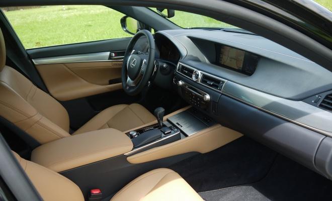 2012 Lexus GS450h interior