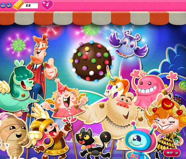 Candy Crush Saga 1401-1415