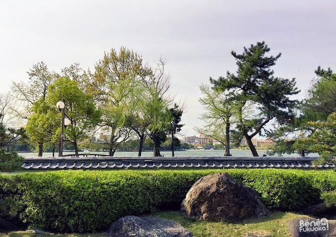 Jardin japonais du parc Ôhori, Fukuoka