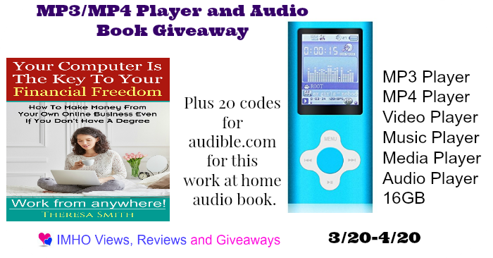 Mp3/Mp4 Giveaway