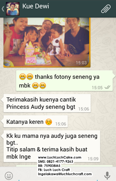 testimoni toko kue online luch luch cake