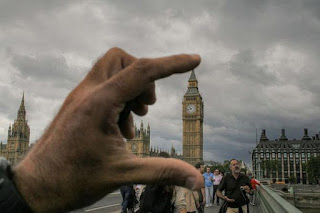 fotografías con perspectiva forzada