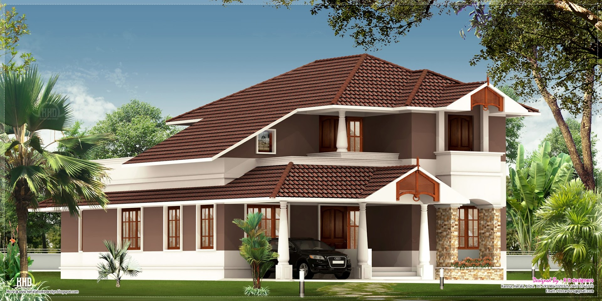2100 house exterior design kerala home design