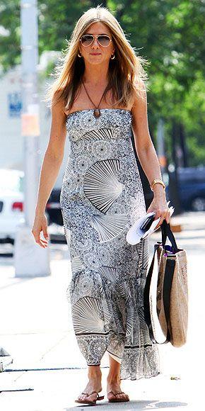 7 dias sete looks de Jennifer Aniston moda de rua street style