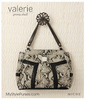 Miche Bag Valerie Shell, Snakeskin Purse
