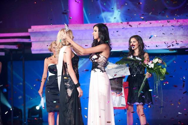 Miss World Bulgaria 2013 winner Nansi Nikolayeva Karaboycheva