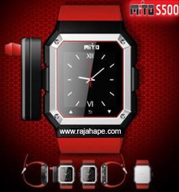 Spesifikasi Dan Harga HP Mito S500 Jam Tangan