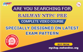RAILWAY NTPC PRE COMPLETE VIDEO COURSE