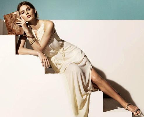 Massimo Dutti mujer verano 2014 vestido largo