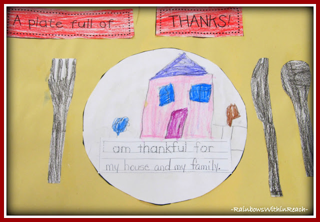 "photo of: ""I Am Thankful"" Placemat via RainbowsWithinReach"