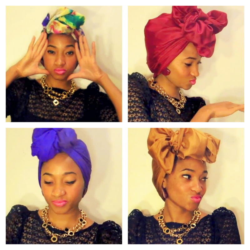 turban chic scarf tutorial for natural hair curlynikki
