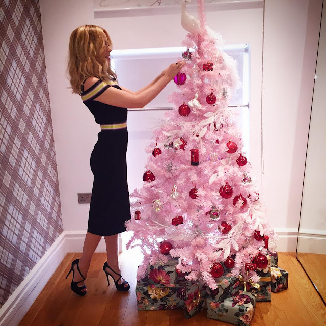 The Best Of Celebrity Christmas Trees @kylieminogue - Cool Chic Style Fashion