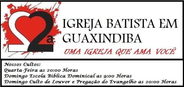 2ª Igreja Batista De Guaxindiba