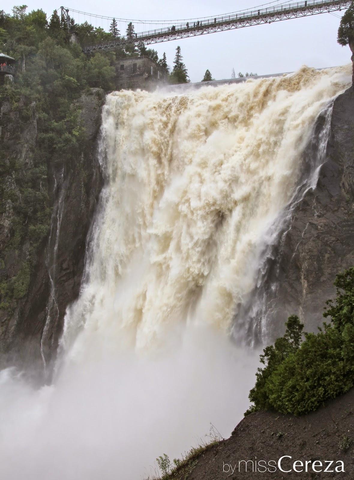Montmorency cascada