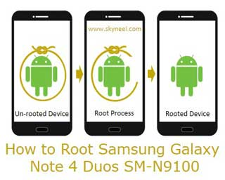 How to Root Samsung Galaxy Note 4 Duos SM-N9100