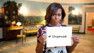 Michelle Obama, unsaved
