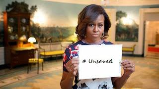 Michelle Obama, unsaved
