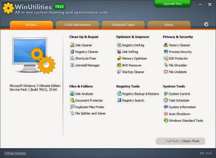 WinUtilities 11.22