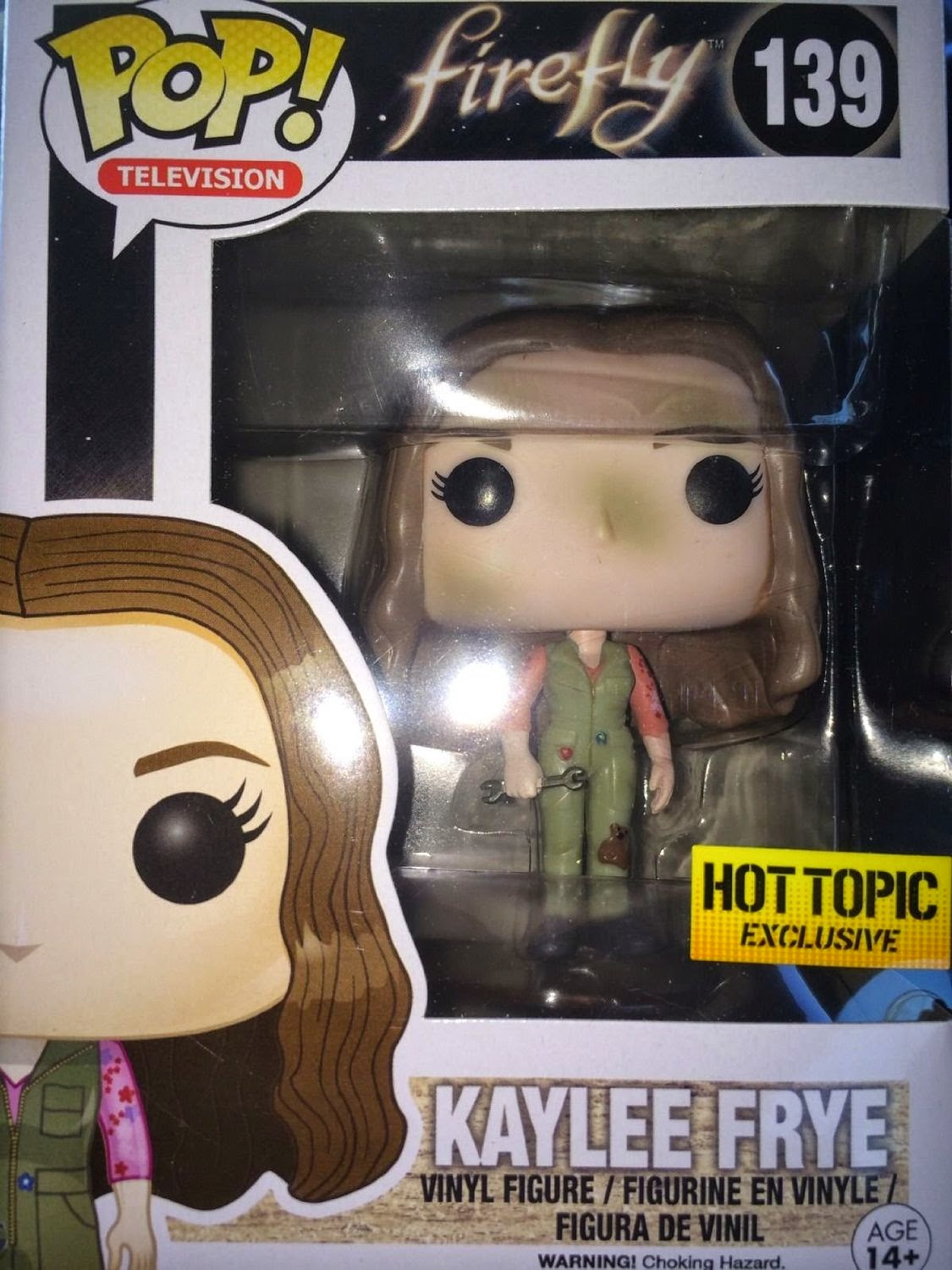 Kaylee Frye exclusiva Hot Topic