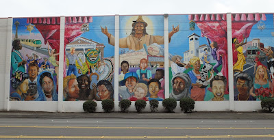 The Rainbow of Diversity Mural, Darigold Creamery West Wall