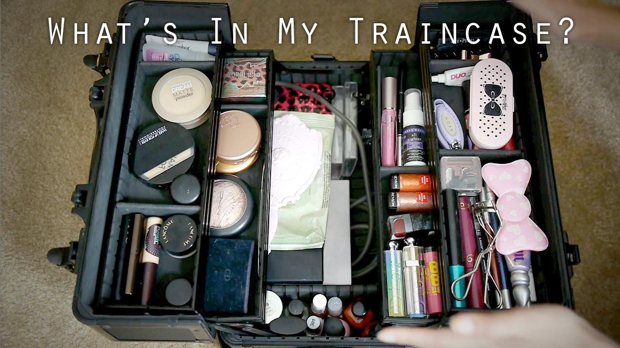 i Pack my Train Case Ever