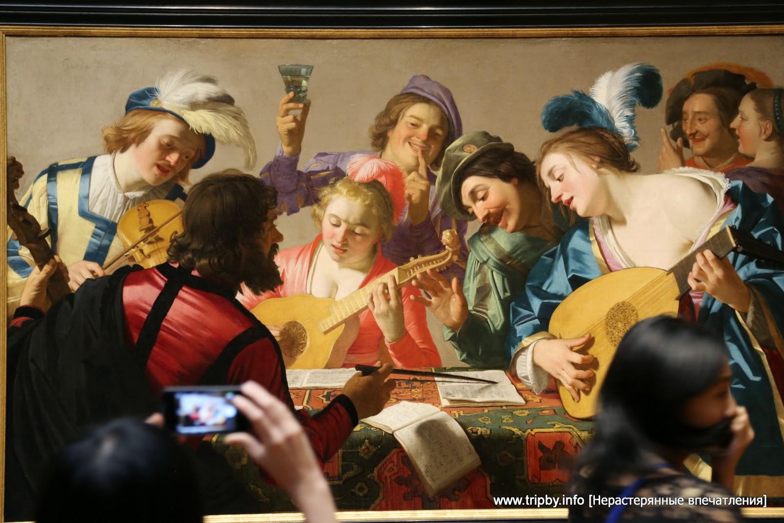 Honthorst, Gerrit van Dutch, 1590 - 1656 The Concert 1623