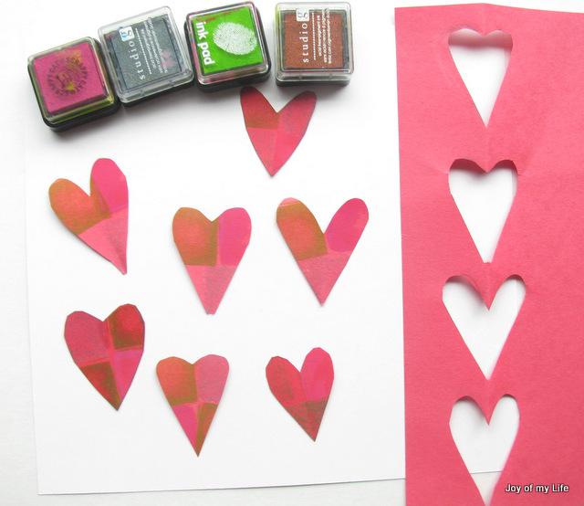 kids Valentine-themed Paper Crafts