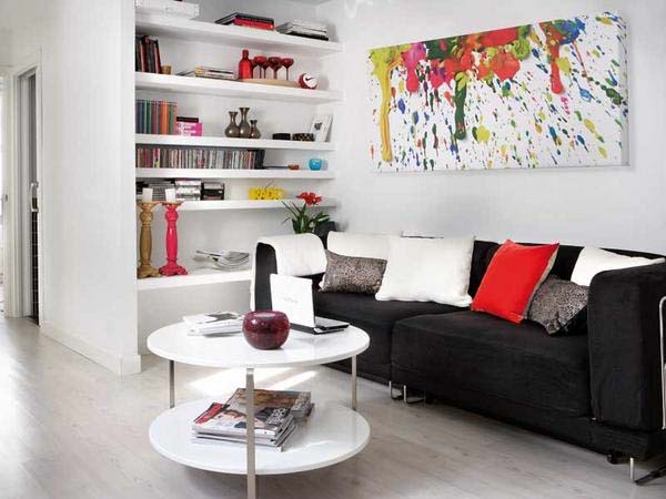 Small Living Room Decorating Ideas For Apartments | Simple Home ...