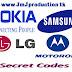 Mobile phones Secret Codes