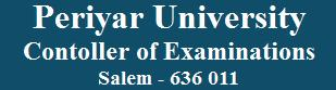 Periyar University PRIDE February - 2013 Examinations Results