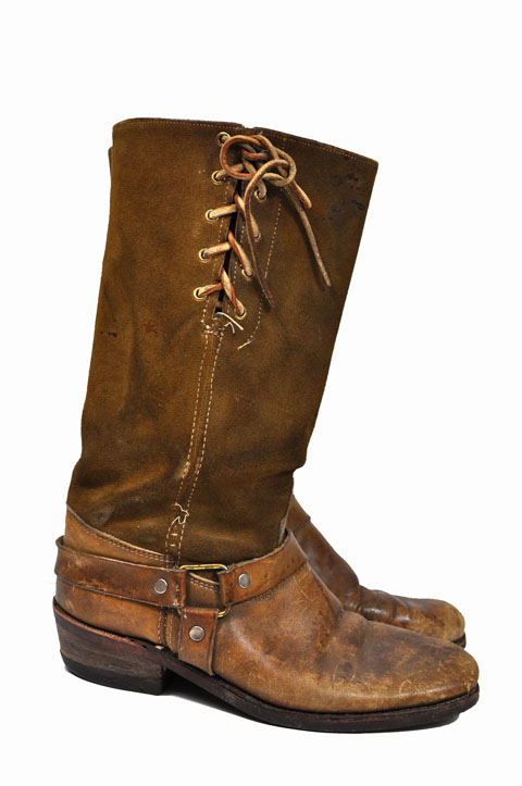 Vintage Motorcycle Boots 92