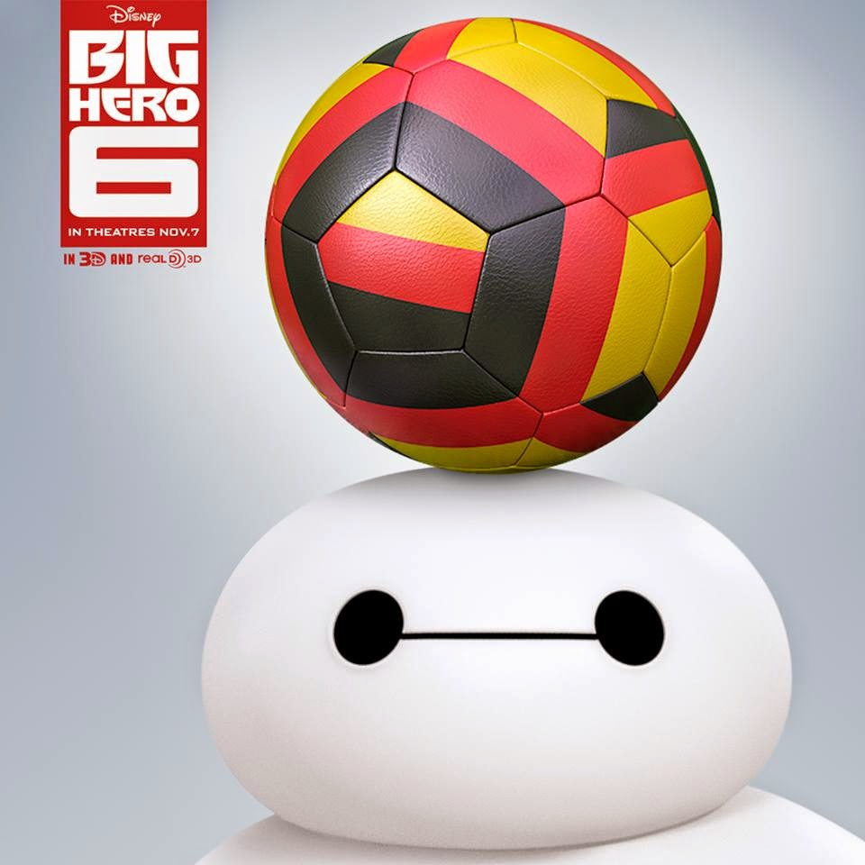 Baymax vs. Balloon - Big Hero 6 - Disney Video