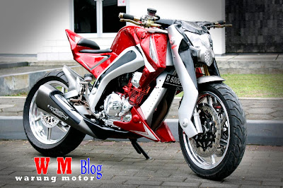 yamaha scorpio street fighter modifikasi