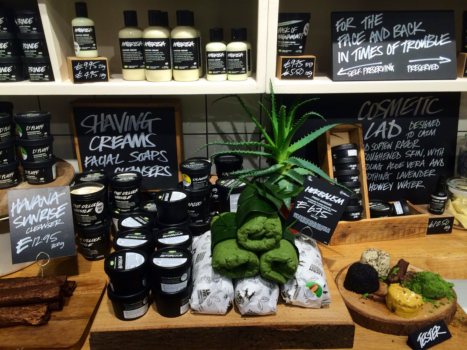 New Lush Store on Oxford Street - Bearded Couture