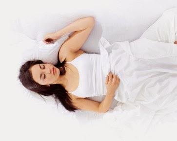 Posisi Tidur Terlentang