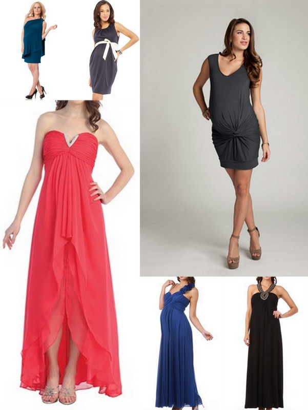 What to wear wednesday 6 maternity wedding dresses for for Pregnant wedding guest dress