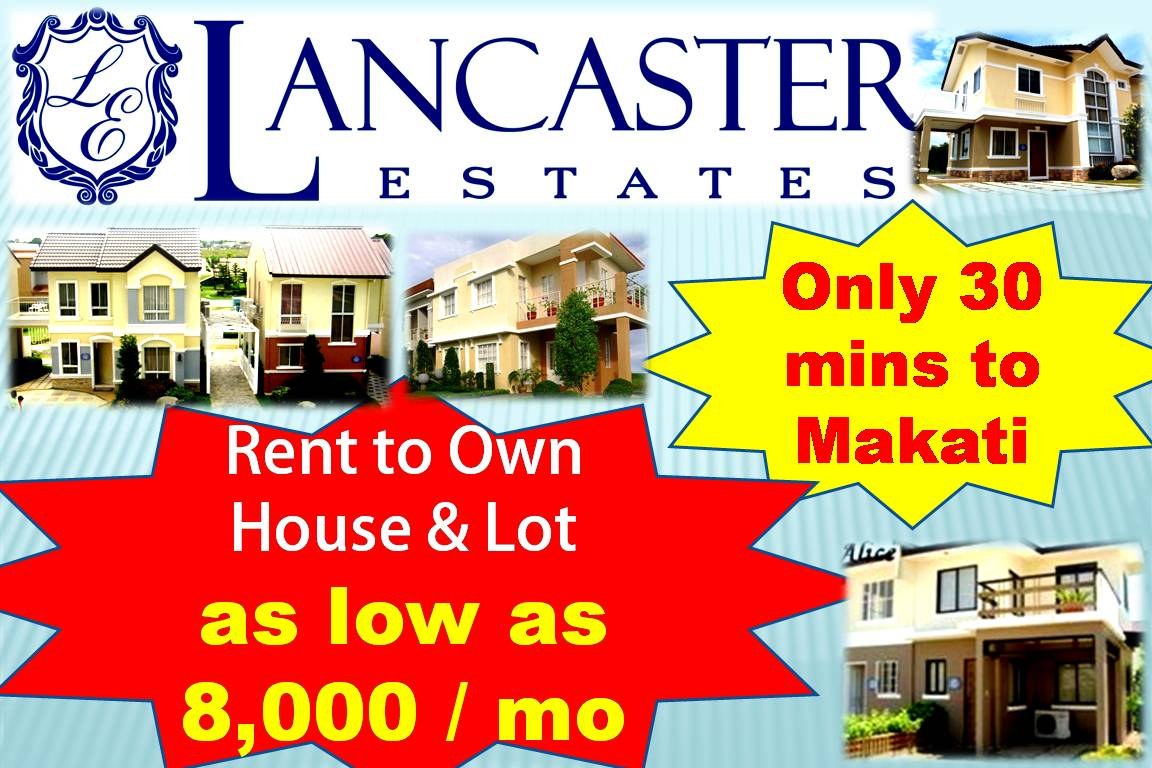 lancaster estates cavite, near makati, near airport