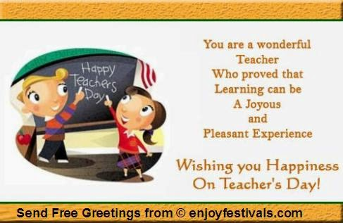 Teachers Day Card Messages In English