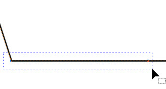 Pada Property Bar klik Convert to curve ;