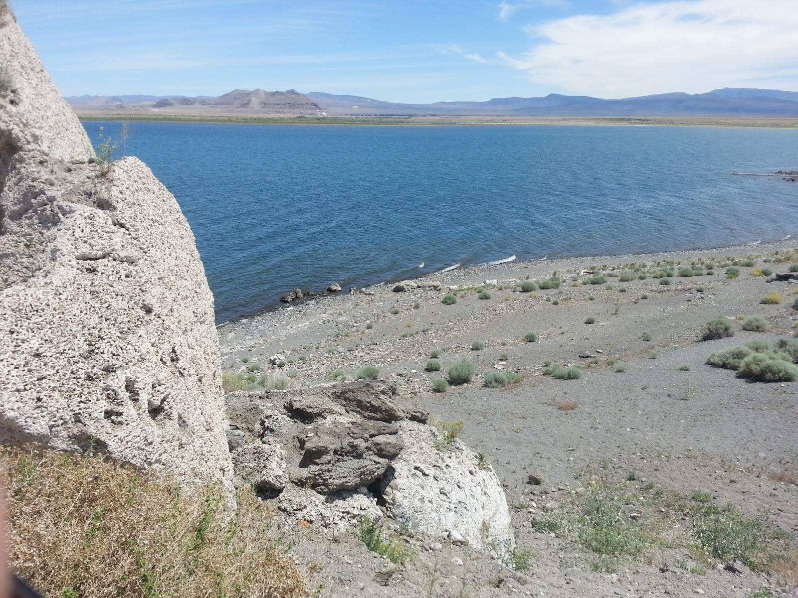 Alas, When We Got To Pyramid Lake, We Didn't Know Where To