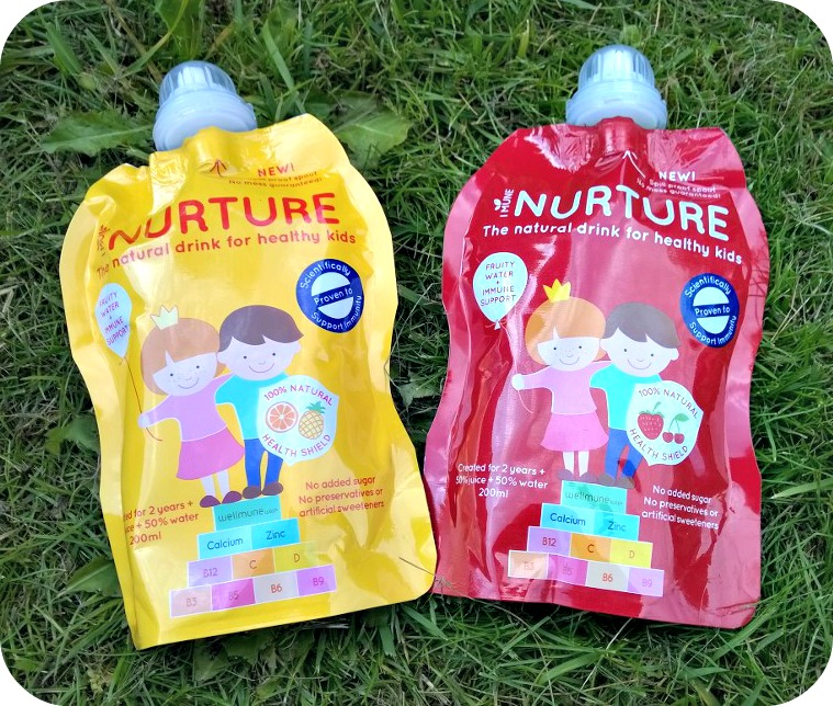 Nurture Drinks pouches