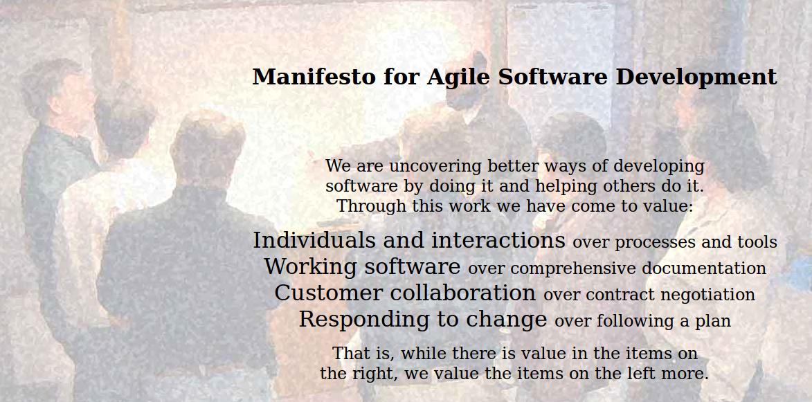 http://agilemanifesto.org/