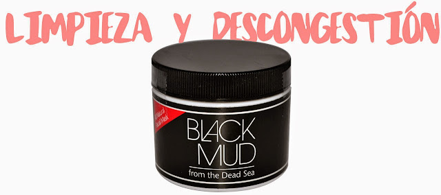 Black mud mascarilla